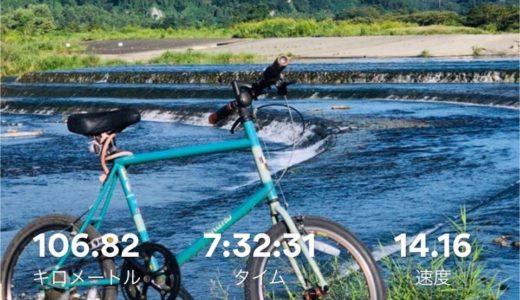 自転車で単独100kmを走破してみた!多摩川サイクリングロード編